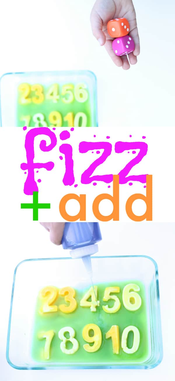 Fizz and Add Math Game for Kids
