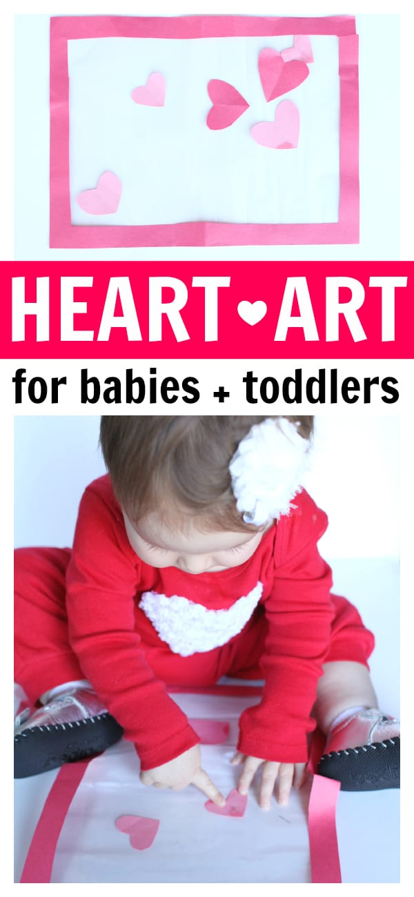 Heart Art for Babies and Toddlers