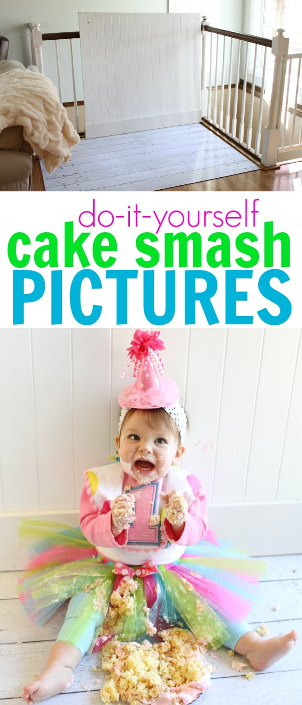 First Birthday Cake Smash Pinterest