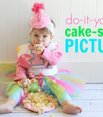 Take Your Own Professional-Looking Cake Smash Pictures at Your Baby's Birthday Party