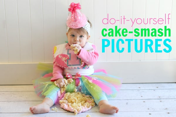 Do It Yourself Cake Smash Pictures