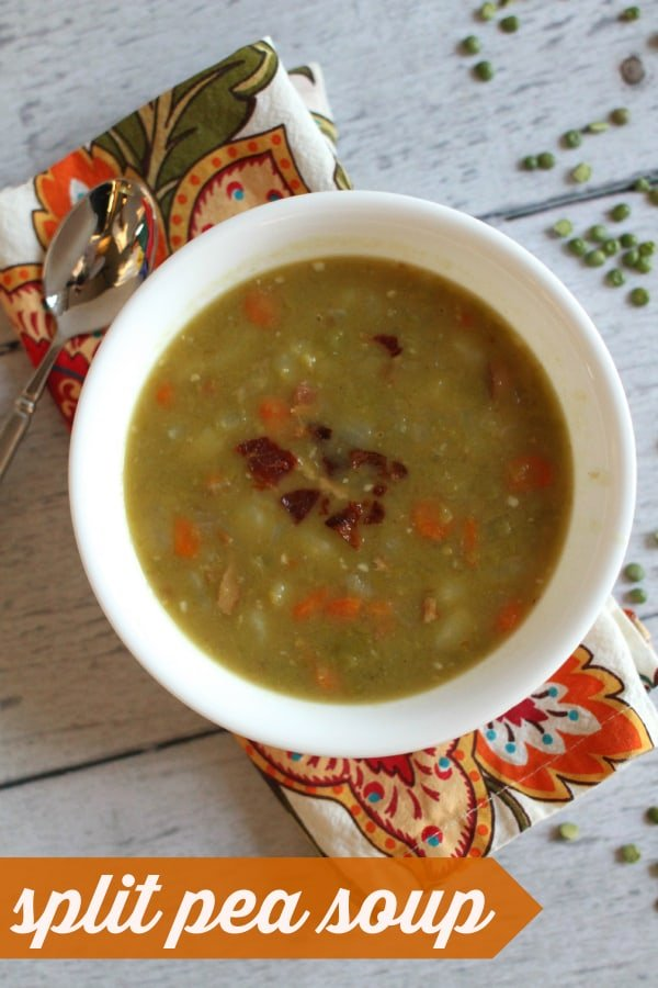 Hearty and Healthy Split Pea Soup