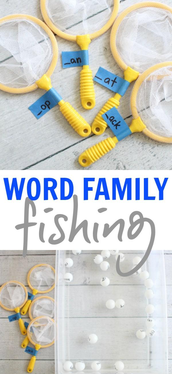 Word Family Fishing