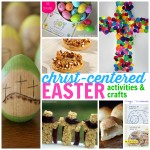 Christ-centered Easter Activities and Crafts Square