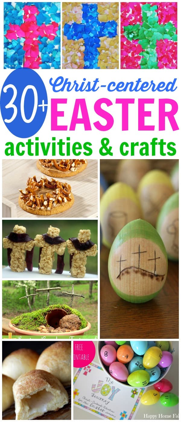Christ-centered Easter Activities and Crafts