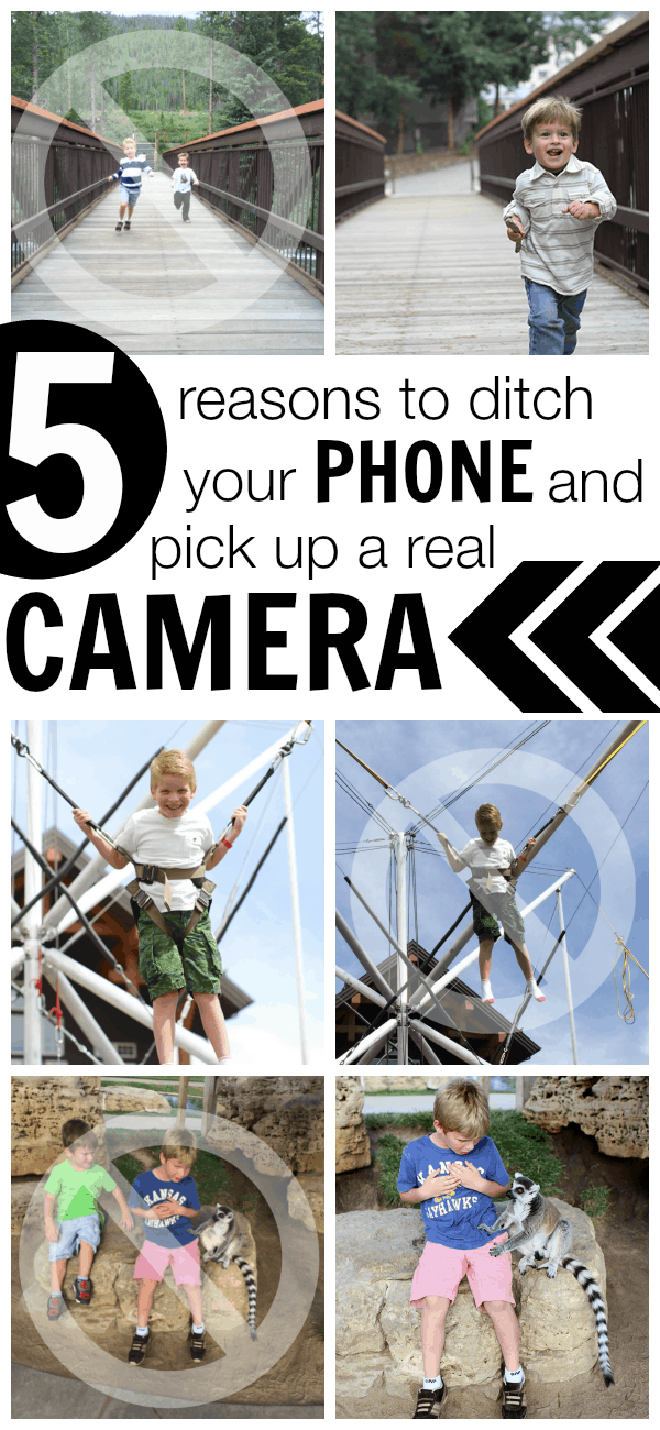 Five Reasons to Ditch Your Phone and Pick Up a REAL camera