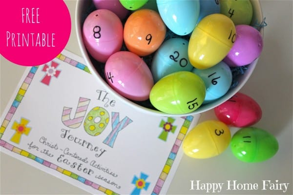 Joy Journey Christ-Centered Easter activities