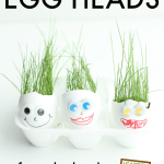 "Egg Heads Activity from ""The Garden Classroom"" Book"
