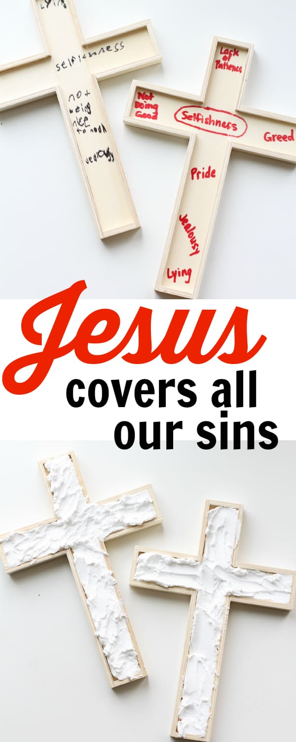 Jesus Covers all our Sins