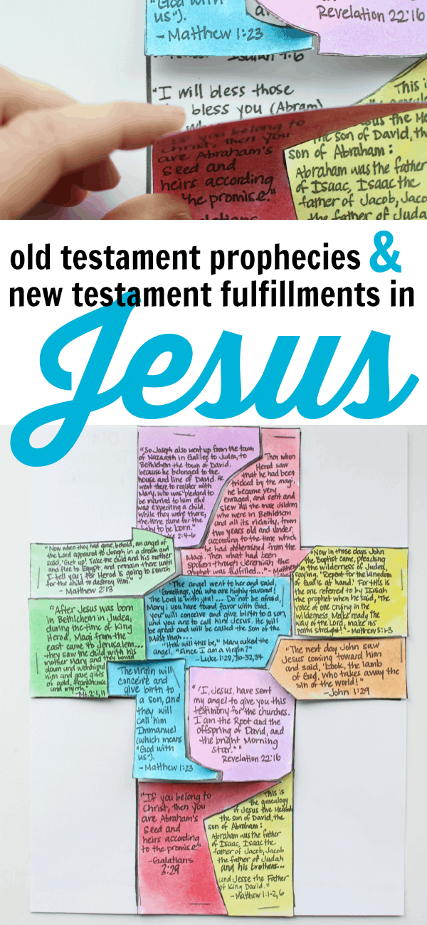 Old Testament Prophecies and New Testament Fulfillments in Jesus