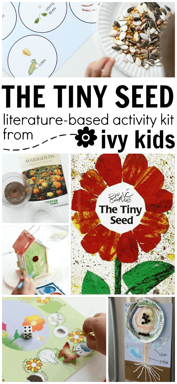 The Tiny Seed literature-based activity kit from Ivy Kids