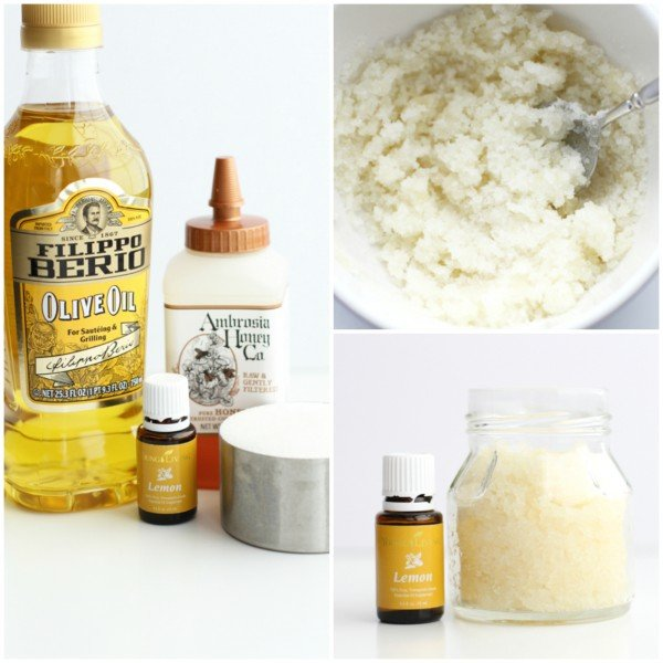 Honey Lemon Sugar Scrub