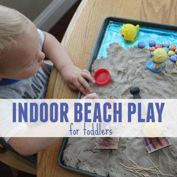indoor beach play for toddlers