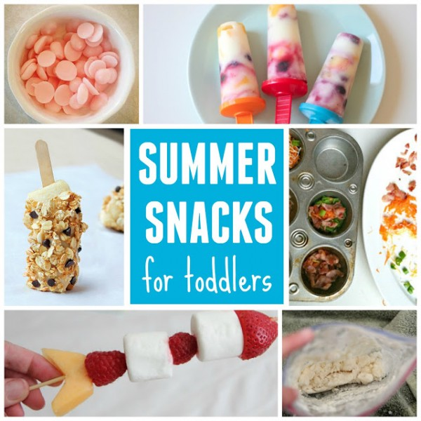 summer snacks for toddlers