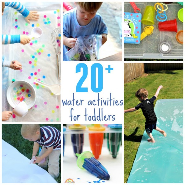 water activities toddlers
