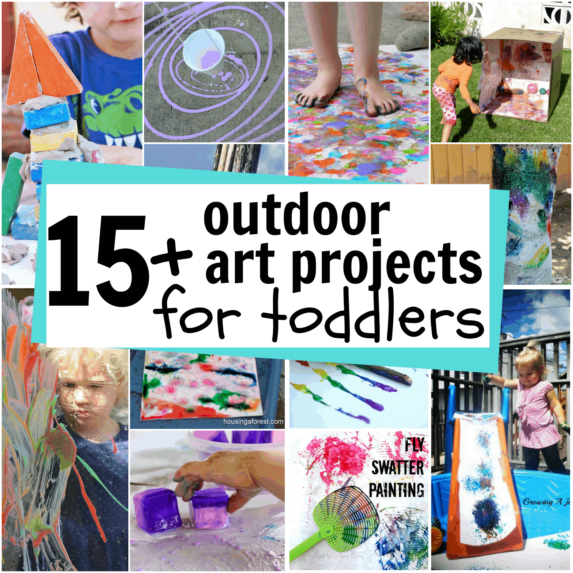 outdoor art for toddlers i can teach my child