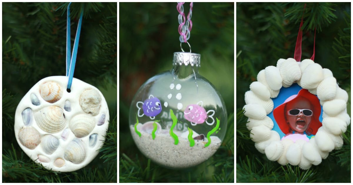 Seashell Ornaments Kids Can Make I Can Teach My Child