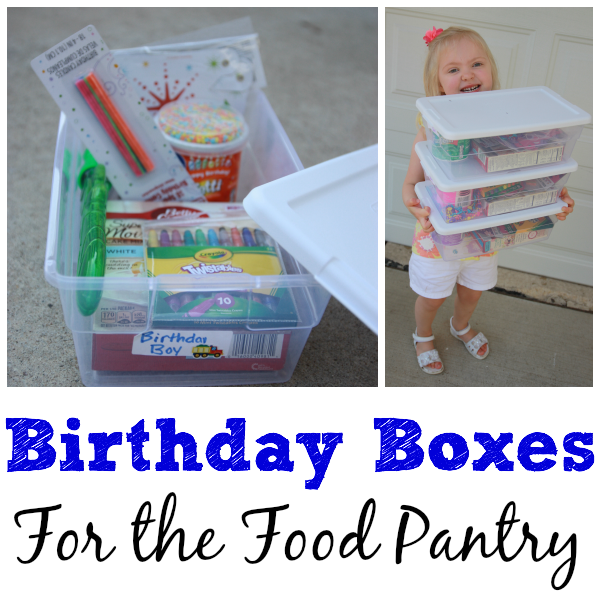Birthday Boxes Square