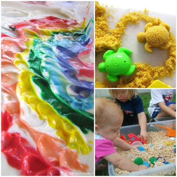 Fun Sensory Tub Ideas for toddlers