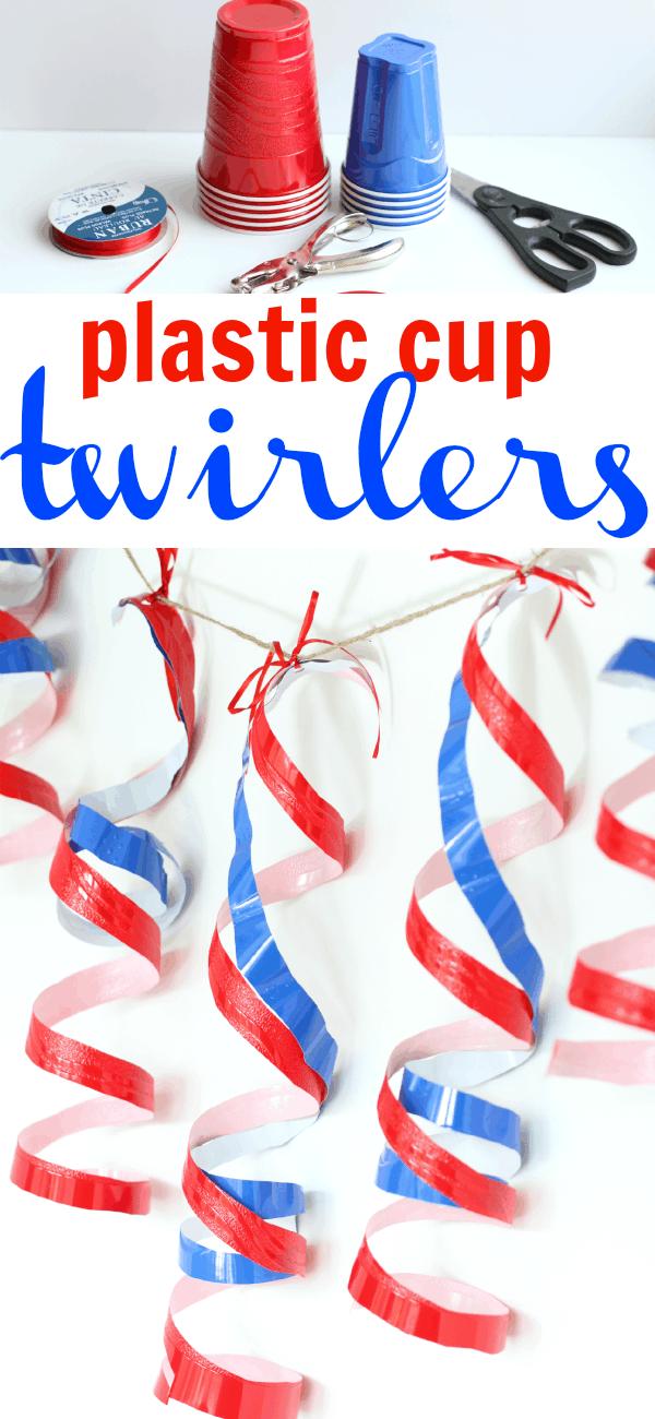Plastic Cup Twirlers