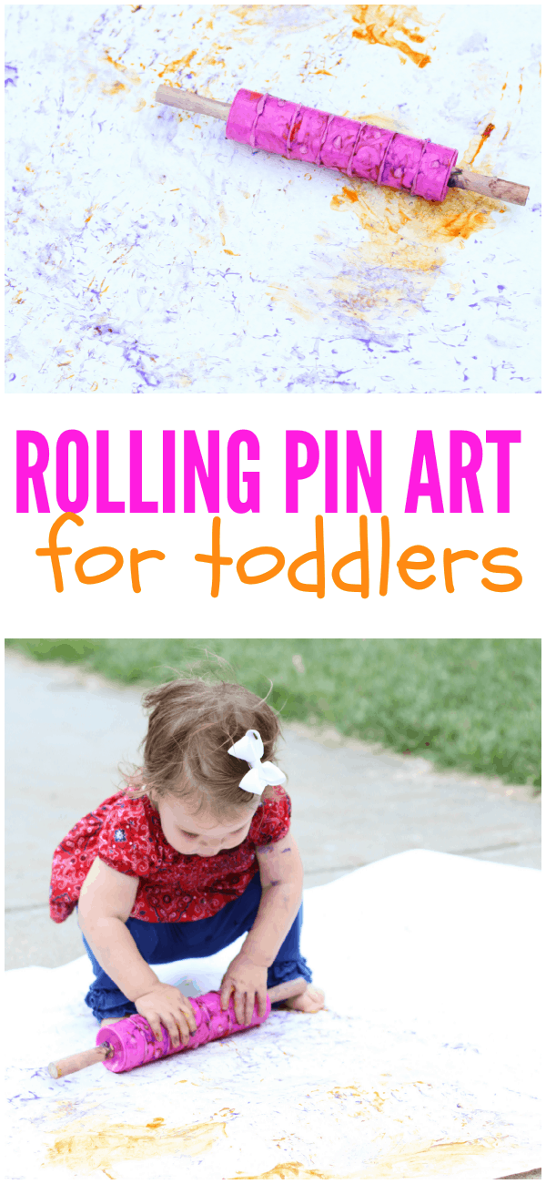 Rolling Pin Art for Toddlers