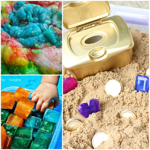 Sensory Tub Ideas that are Safe for Toddlers