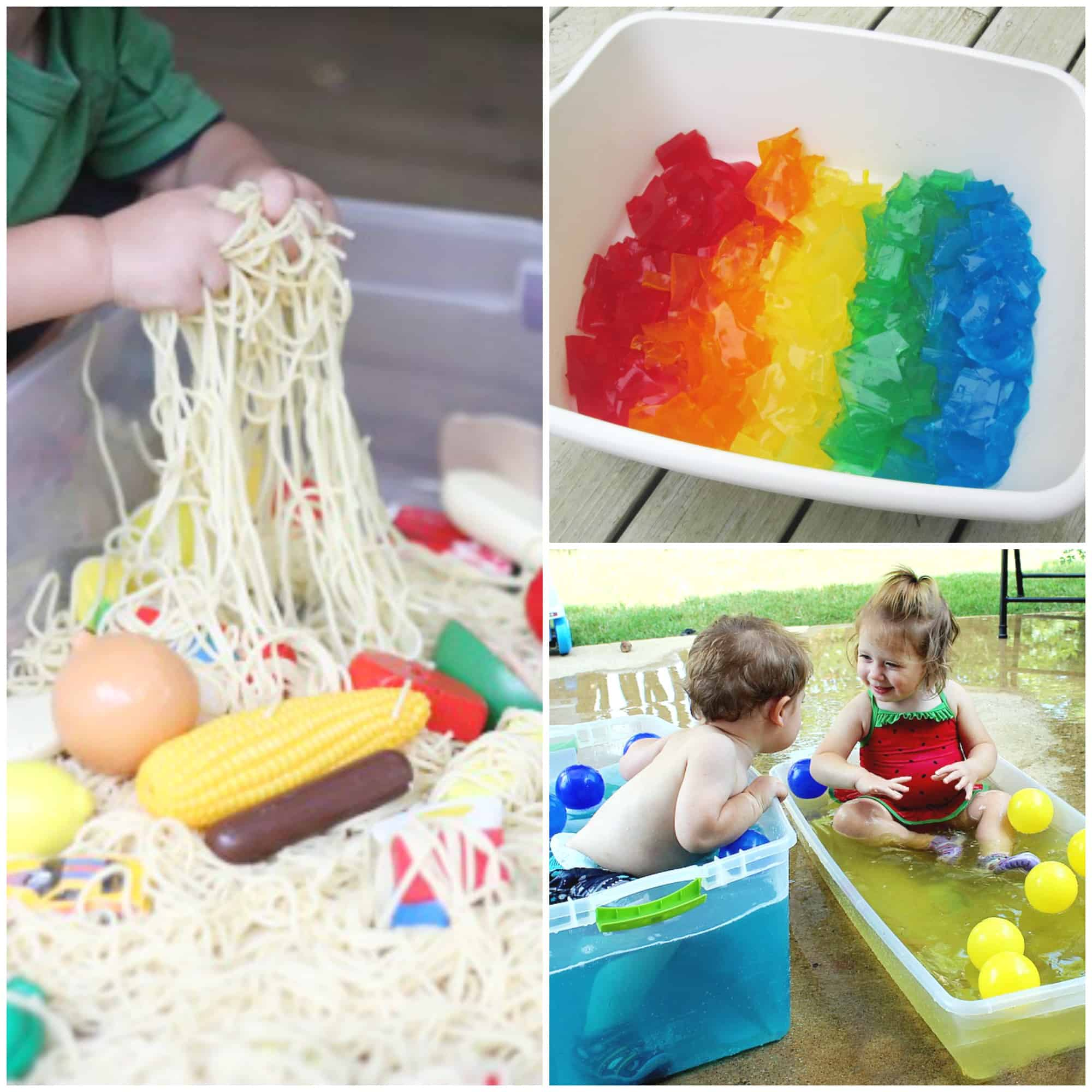 18+ Sensory Tubs for Toddlers - I Can Teach My Child!