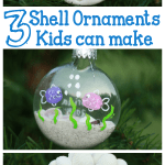 Seashell Ornaments Kids Can Make