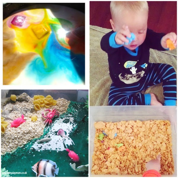 Toddler Safe Sensory Tubs