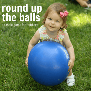 Round Up the Balls Game for Toddlers