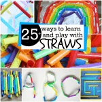 25 plus ways to learn and play with straws