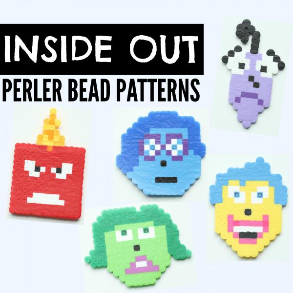 Perler Bead Ideas with Printable Perler Bead Patterns