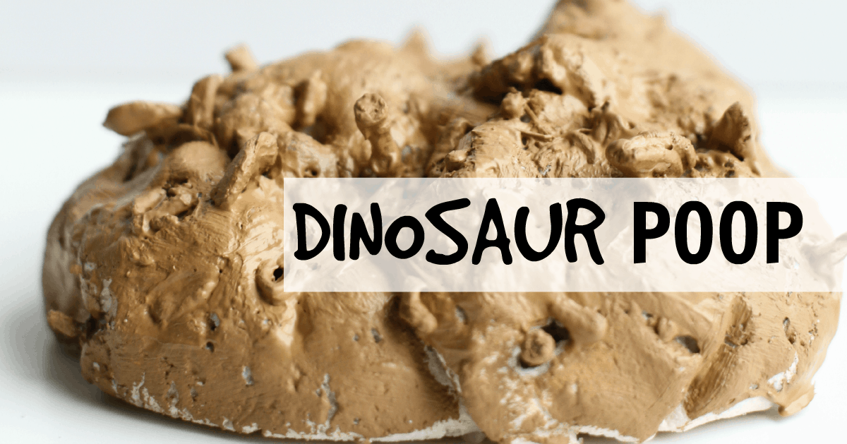 Dinosaur Poop Craft on Science Crafts For Preschoolers