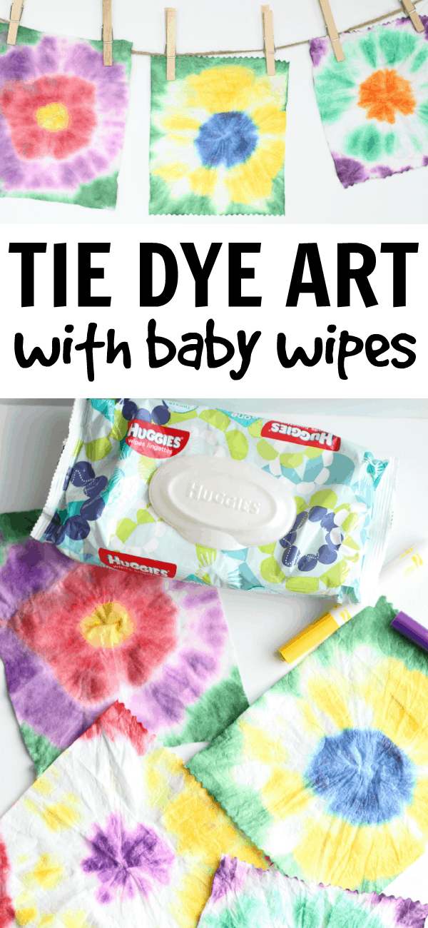 a53646103b14 Easy Tie Dye Art with Baby Wipes - I Can Teach My Child!