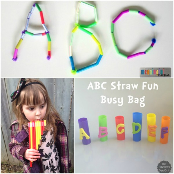Fun Activities for Learning and Playing with Straws