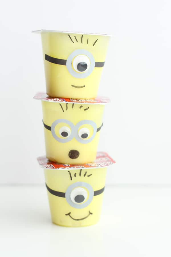 Minion Snack Cups