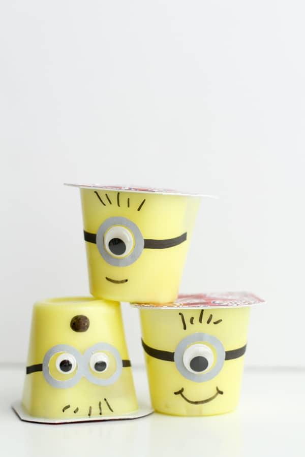 Minion Snack Cups