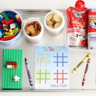 Magnetic Snack Tray for Travel