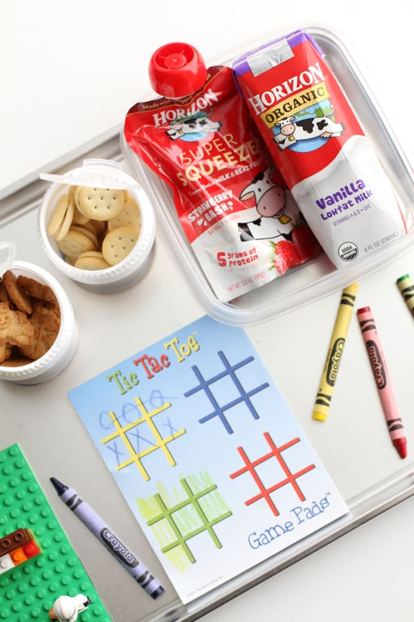 Magnetic Snack and Play Travel Tray