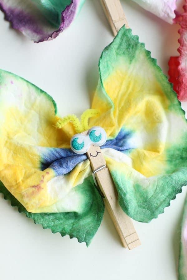 Tie Dye Baby Wipes Butterfly