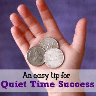 One Easy Tip for Quiet Time Success