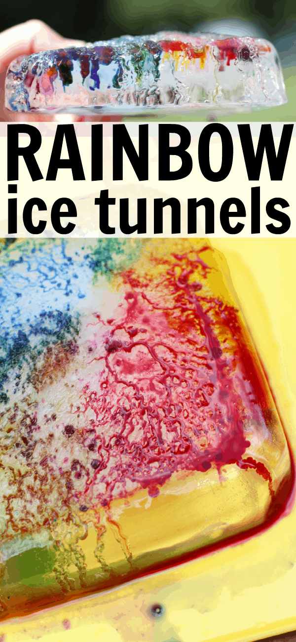 Science Meets Art- Rainbow Ice Tunnels