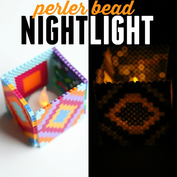 Simple Perler Bead Nightlight