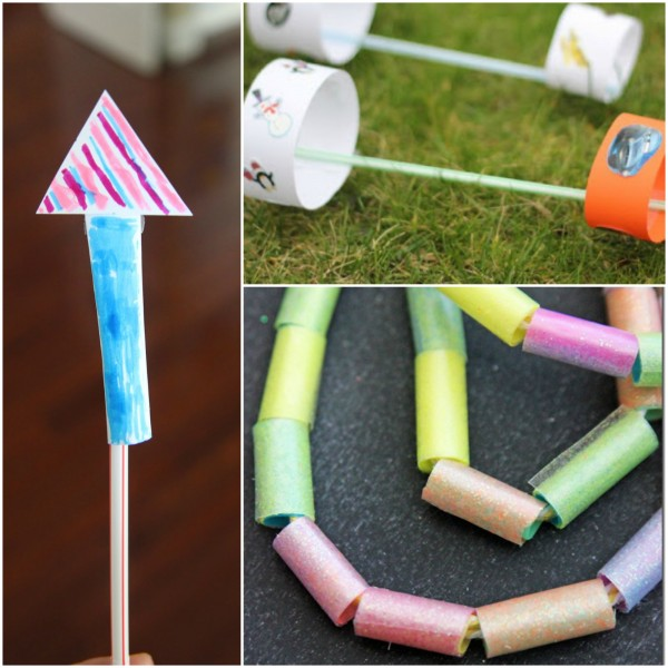 Straw Activities for Learning and Playing