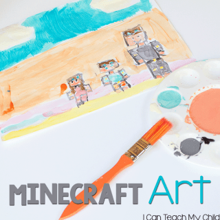 Minecraft Impressionist Paintings