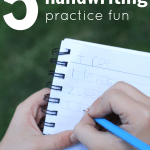 5 Ways to Make Handwriting Practice Fun
