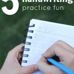 5 Ways to Make Handwriting Fun