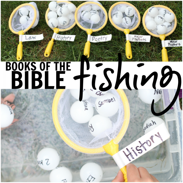 Books of the Bible Fishing square