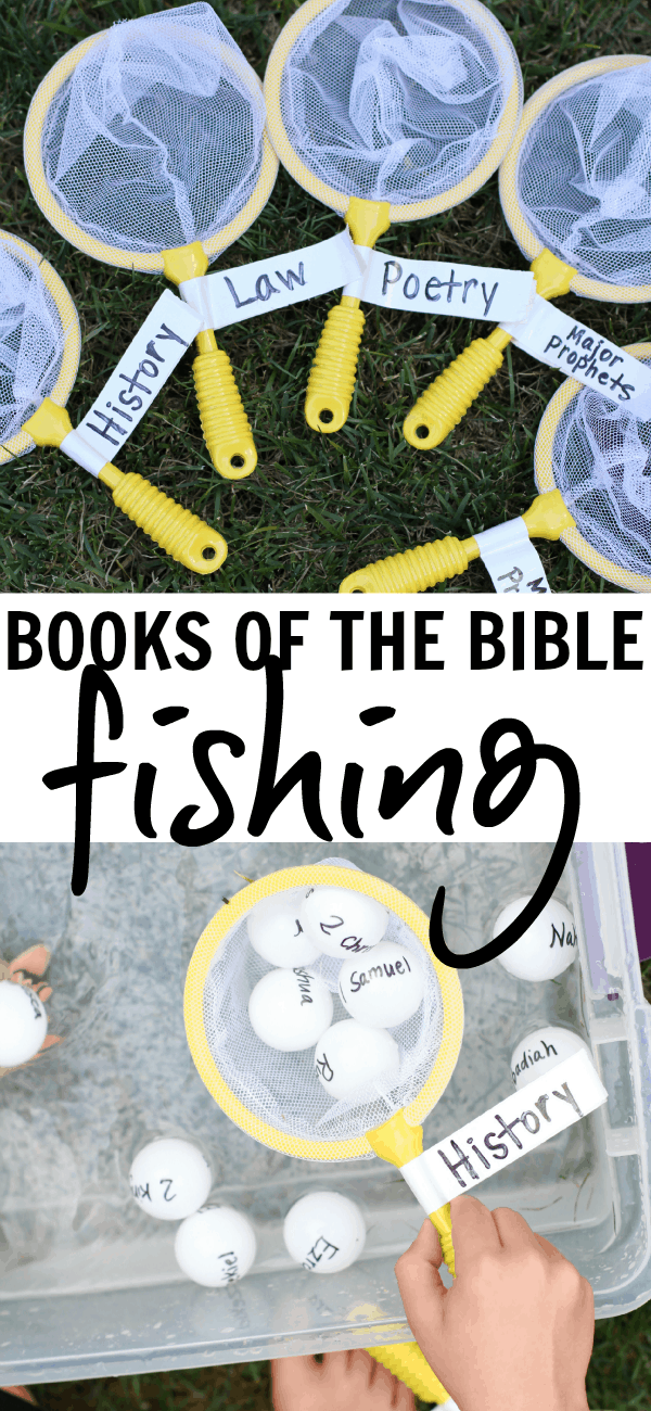 Books of the Bible activities