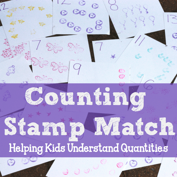 Counting Stamp Match Square3